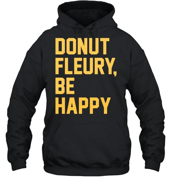 Donut Fleurybe happy shirt Unisex Hoodie