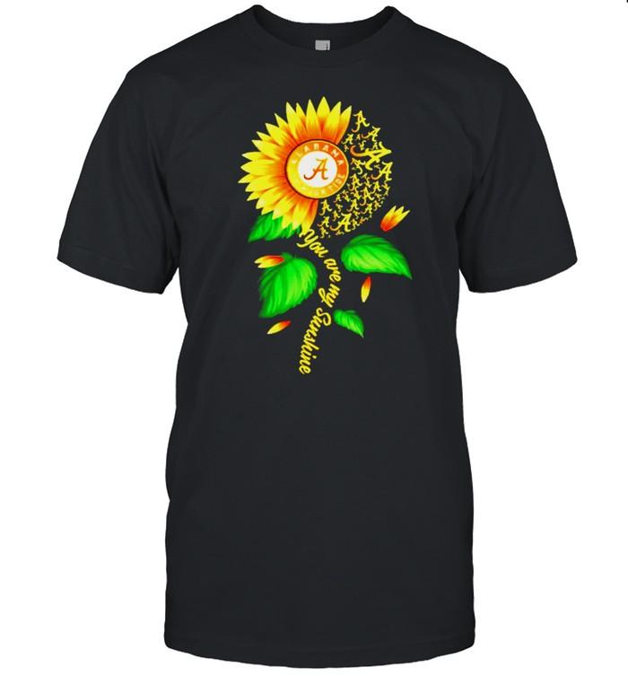 Alabama Crimson Tide sunflower you are my sunshine shirt Classic Men's T-shirt