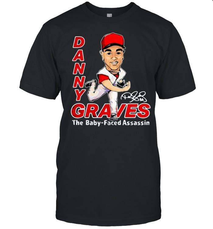 Danny graves the baby faced assassin signature shirt Classic Men's T-shirt