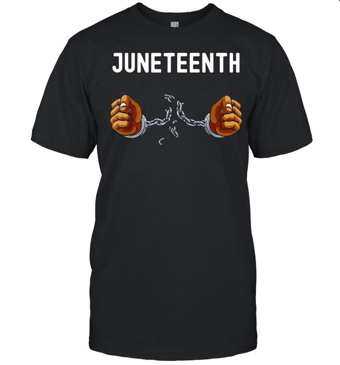 Juneteenth Africa Word Cloud Montage T-shirt Classic Men's T-shirt