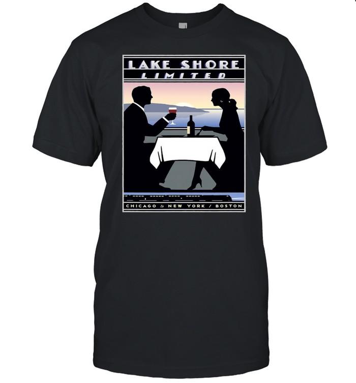 Lake Shore Limited Chicago Boston T-shirt Classic Men's T-shirt