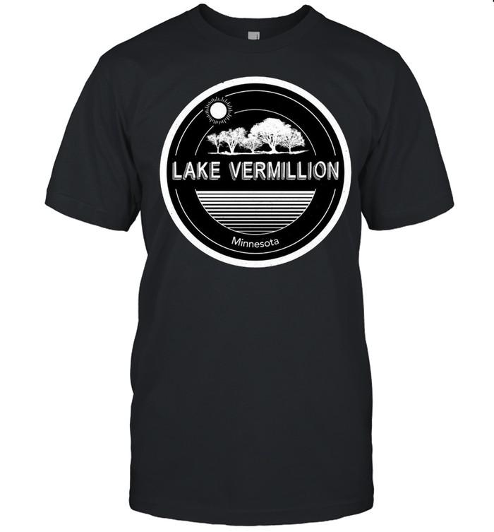 Lake Vermilion Minnesota Vintage T-shirt Classic Men's T-shirt