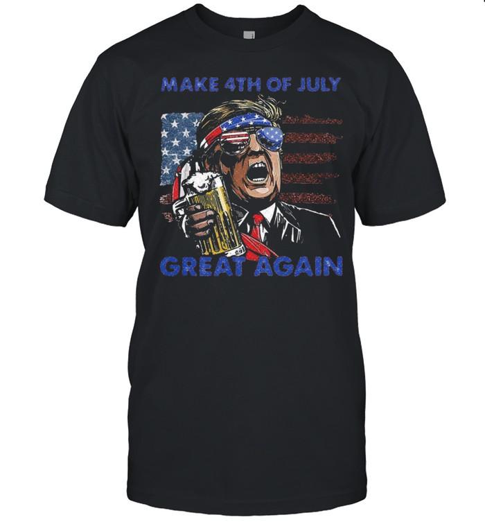 Make 4th Of July Great Again shirt Classic Men's T-shirt