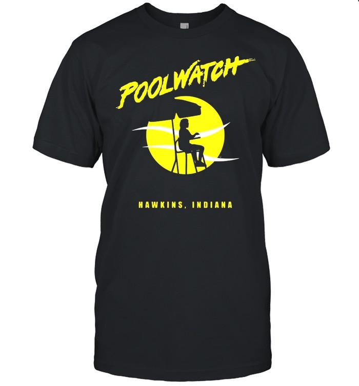 Poolwatch Hawkin Indian Stranger Things shirt Classic Men's T-shirt