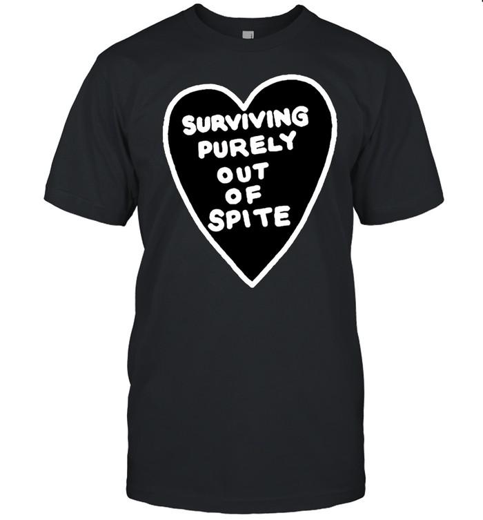 Surviving purely out of spite shirt Classic Men's T-shirt