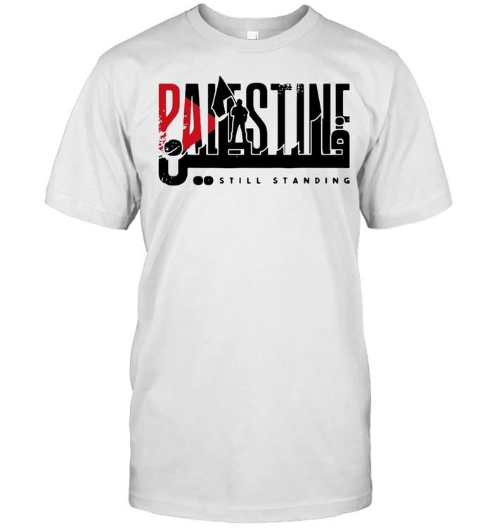 Palestine Still Standing  Classic Men's T-shirt