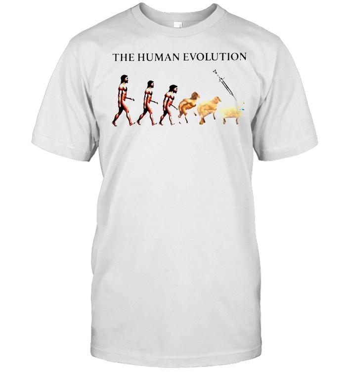 The human evolution Covid 19 shirt Classic Men's T-shirt