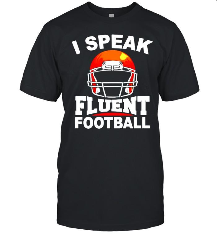 I speak fluent football shirt Classic Men's T-shirt
