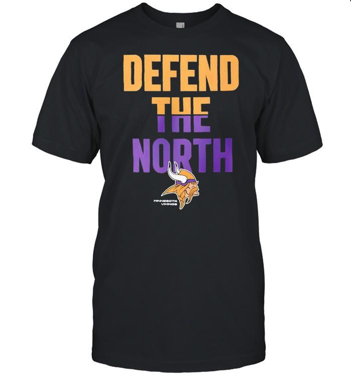 Minnesota Vikings Nike defend the north shirt Classic Men's T-shirt