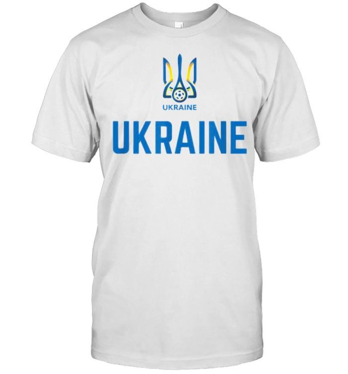 Ukraine Soccer Jersey 2020 2021 Euros Ukrainian T- Classic Men's T-shirt