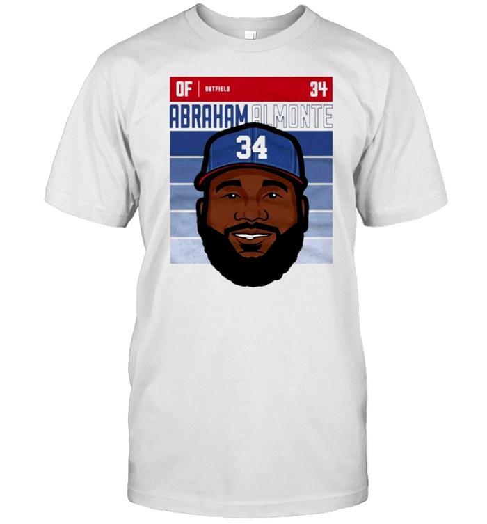 Atlanta Braves Abraham Almonte outfield shirt Classic Men's T-shirt