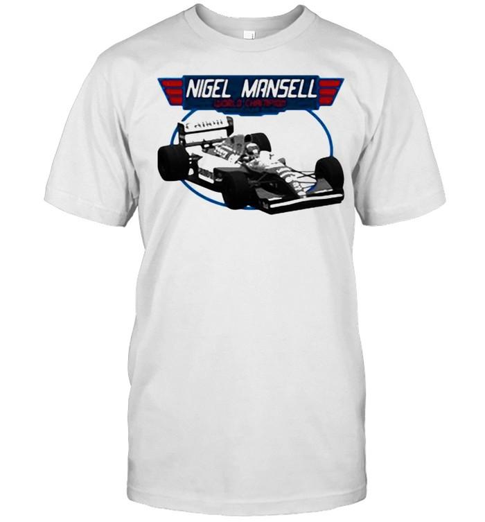 Nigel Mansell World Champion  Classic Men's T-shirt