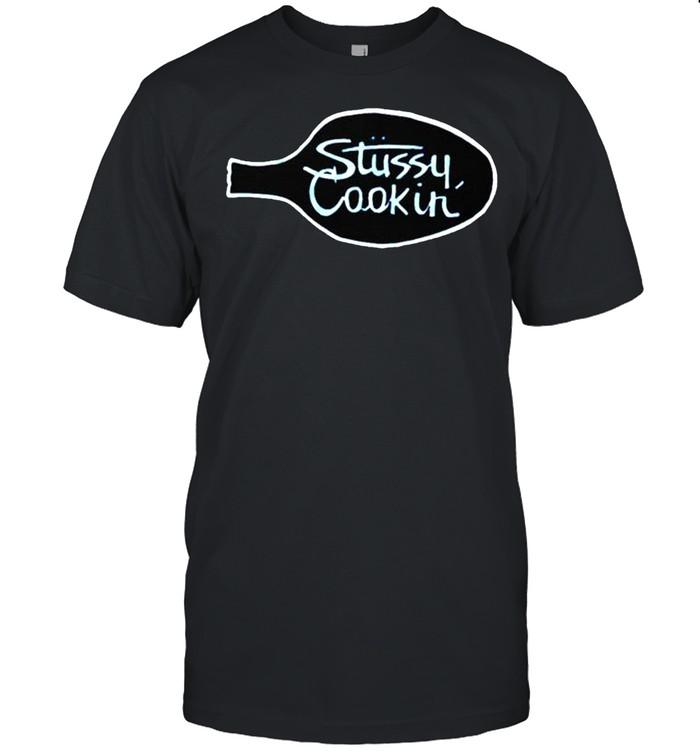 Single Stitch Stussy Cookin shirt Classic Men's T-shirt