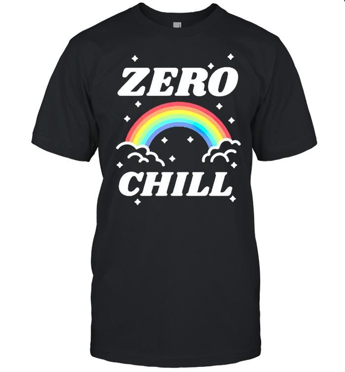 Rainbow zero chill shirt Classic Men's T-shirt