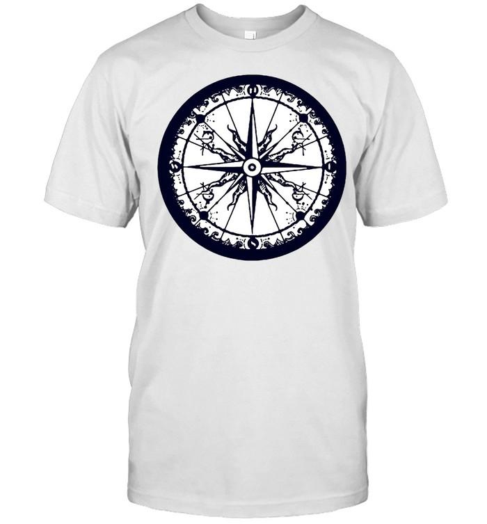 Compass Sailing Hiking Adventure T-shirt Classic Men's T-shirt