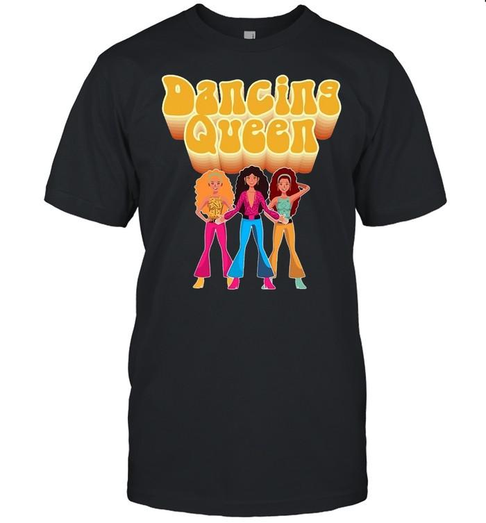 Fun Dancing Queen Disco Dance Club Party T-shirt Classic Men's T-shirt