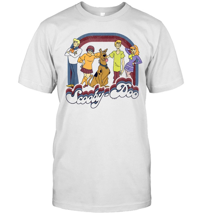 ScoobyDoo Group Shot Fourth Of July Stars And Stripes shirt Classic Men's T-shirt