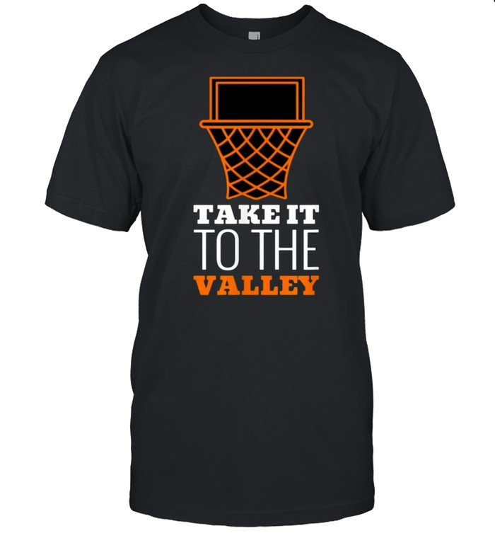 Take It To The Valley of Phoenix Basketball T- Classic Men's T-shirt