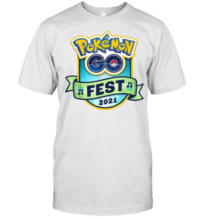 Pokemon Go Fest 2021  Classic Men's T-shirt
