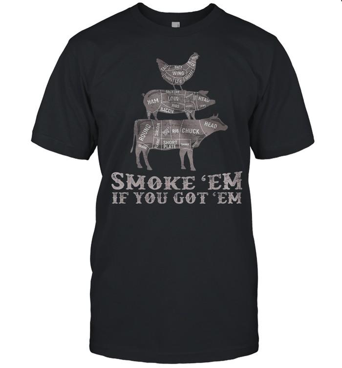 Smoke 'em if you got 'em shirt Classic Men's T-shirt