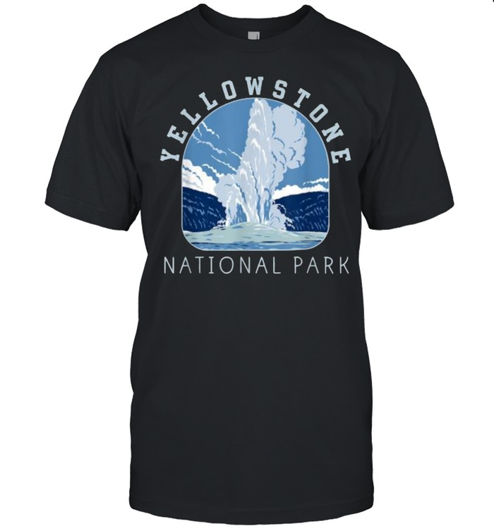Yellowstone National Park T- Classic Men's T-shirt