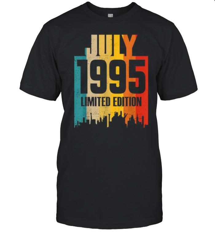 July 1995 Limited Edition Retro Vintage T- Classic Men's T-shirt