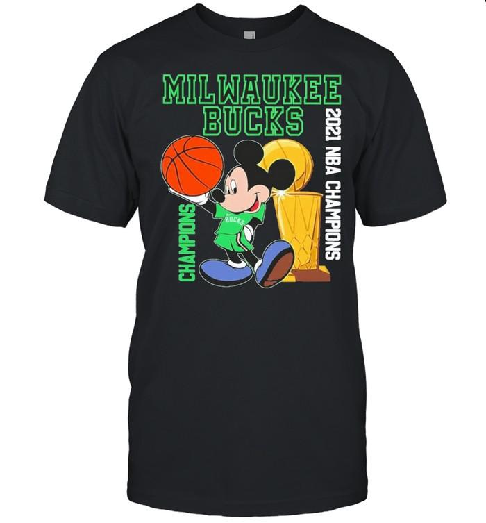 2021 NBA Champions Milwaukee Bucks Disney shirt Classic Men's T-shirt