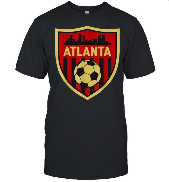 Atlanta Soccer Jersey Style Team Fan FC United Flag ATL shirt Classic Men's T-shirt