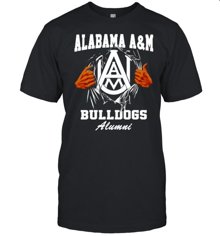 Alabama A&M Bulldogs Alumni shirt Classic Men's T-shirt