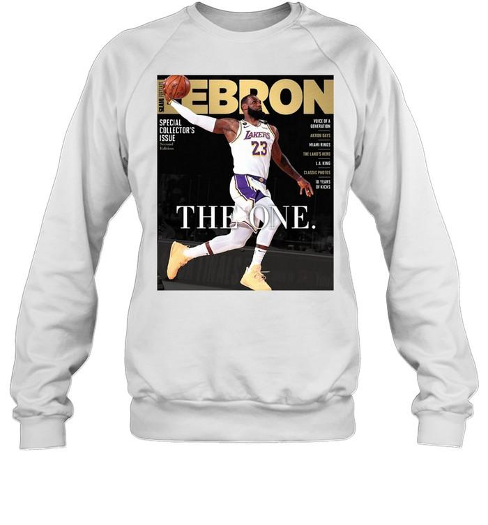 LEBRON JAMES THE ONE SHIRT Unisex Sweatshirt