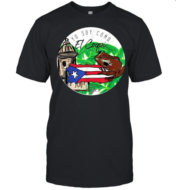 Soy como el Coqui Boricua Puerto Rico Izis la Enfermera shirt Classic Men's T-shirt