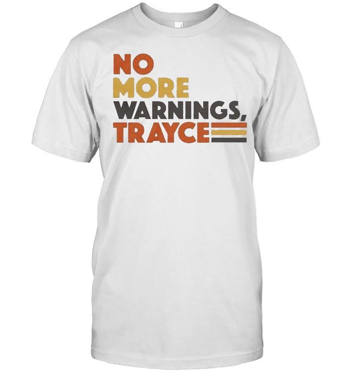 San Diego no more warnings trayce shirt Classic Men's T-shirt