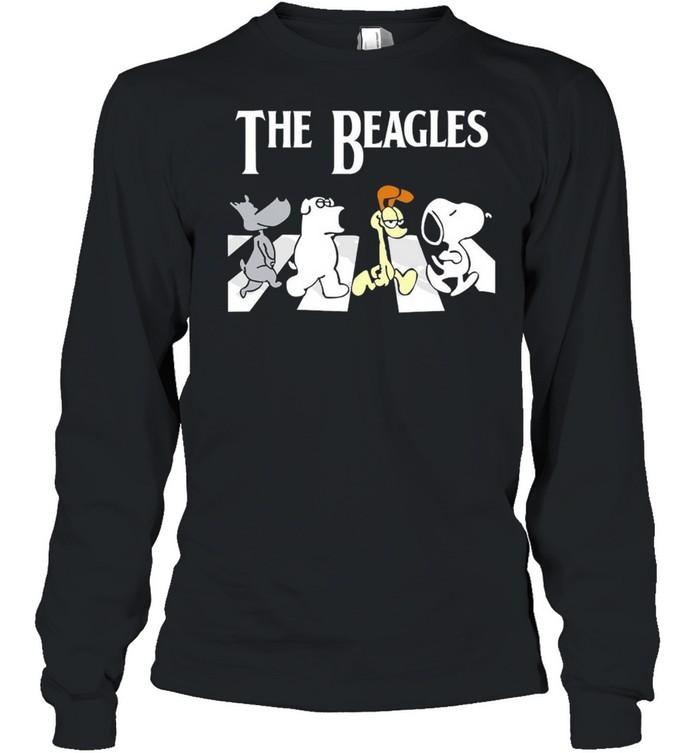 The Beagles Abbey Road shirt Long Sleeved T-shirt