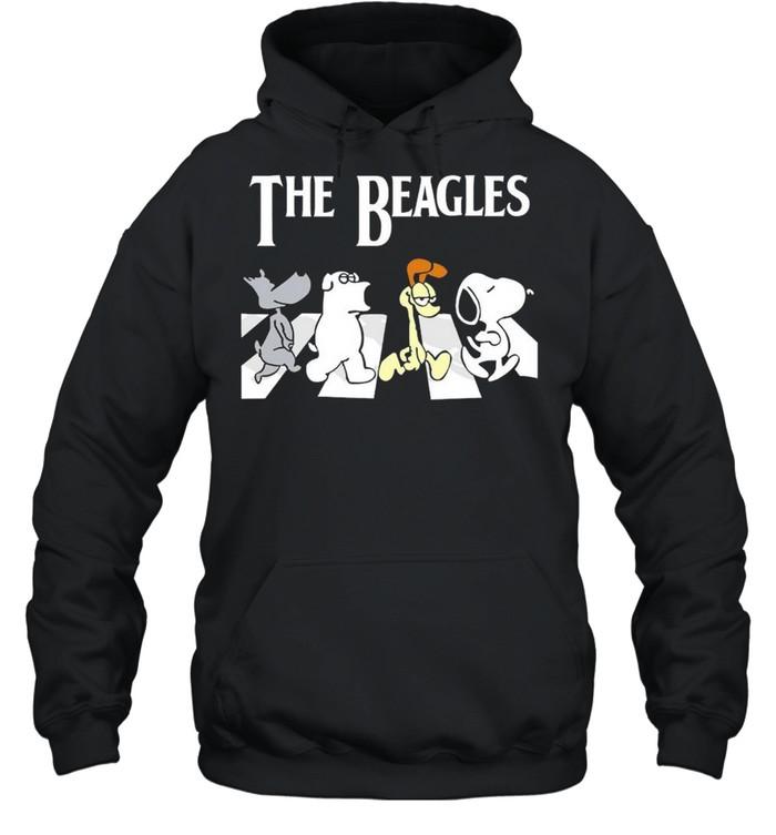 The Beagles Abbey Road shirt Unisex Hoodie
