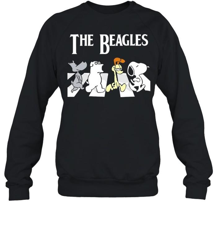 The Beagles Abbey Road shirt Unisex Sweatshirt