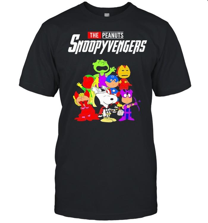 The Peanuts Snoopy Avengers shirt Classic Men's T-shirt