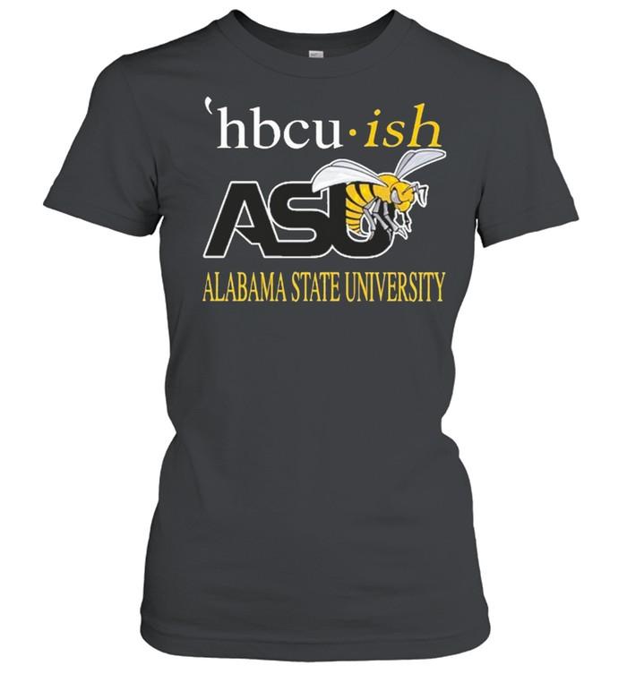 Hbcu ish asu alabama state university shirt Classic Women's T-shirt