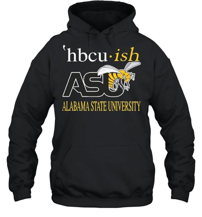 Hbcu ish asu alabama state university shirt Unisex Hoodie