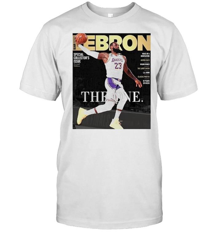 Lebron James the one shirt Classic Men's T-shirt