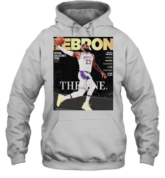 Lebron James the one shirt Unisex Hoodie
