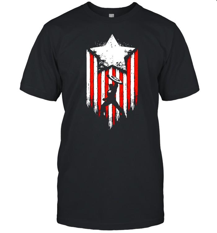 Marvel Avengers Captain America  Classic Men's T-shirt