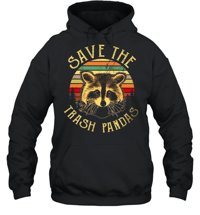 Save The Trash Pandas shirt Unisex Hoodie