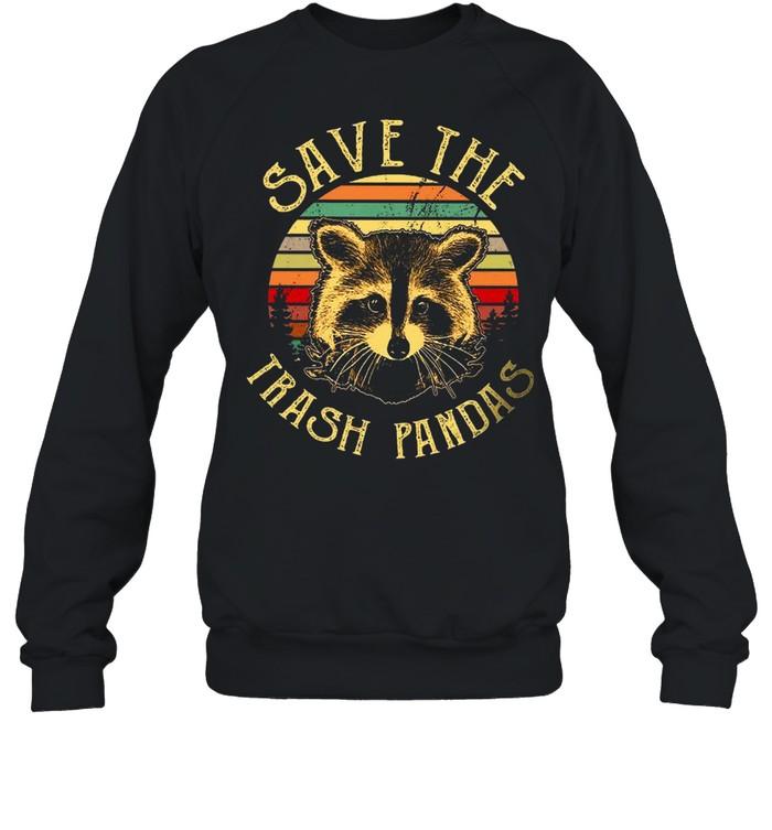 Save The Trash Pandas shirt Unisex Sweatshirt