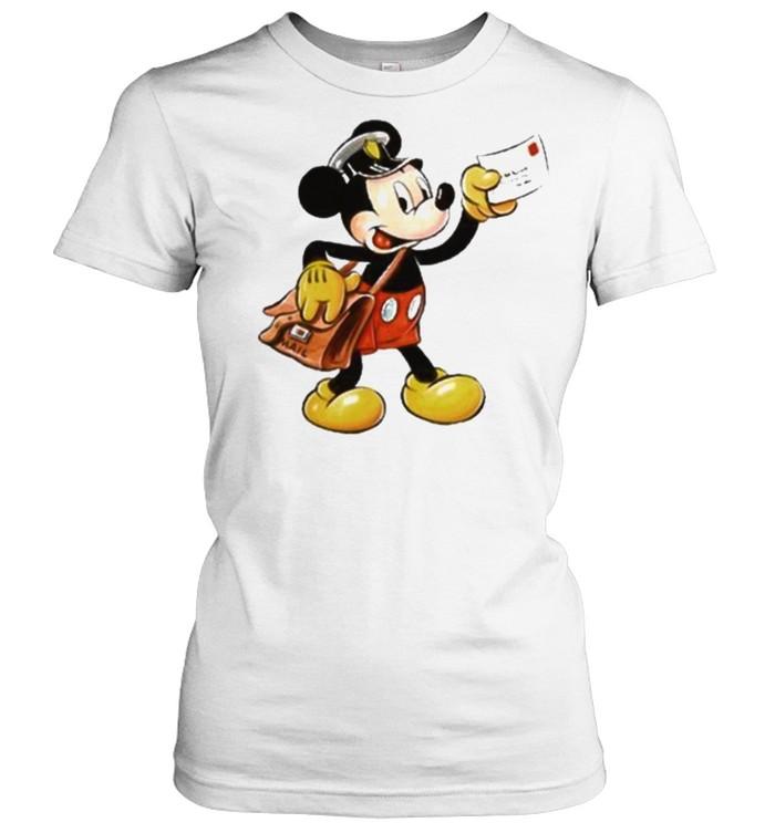 mickey postman shirt Classic Women's T-shirt