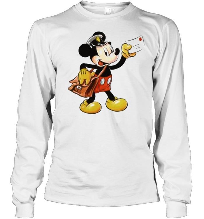 mickey postman shirt Long Sleeved T-shirt