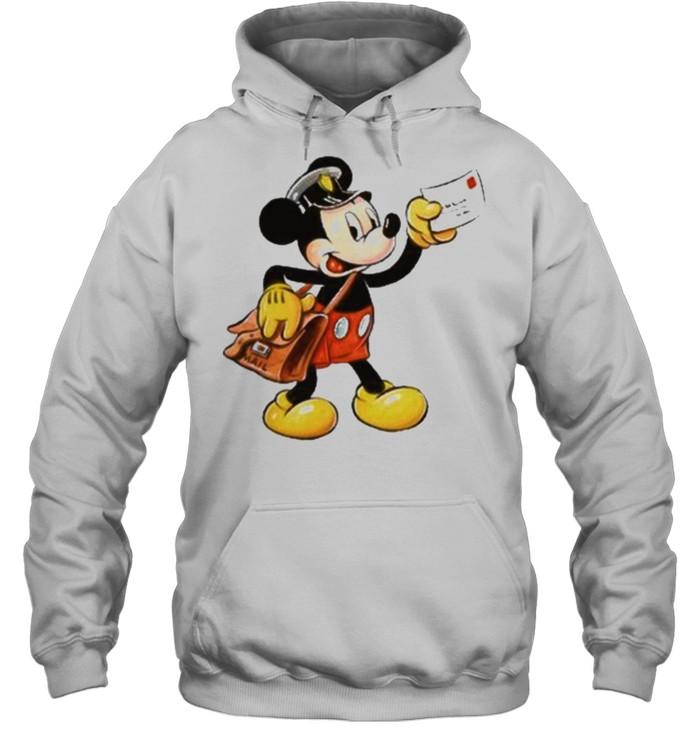 mickey postman shirt Unisex Hoodie