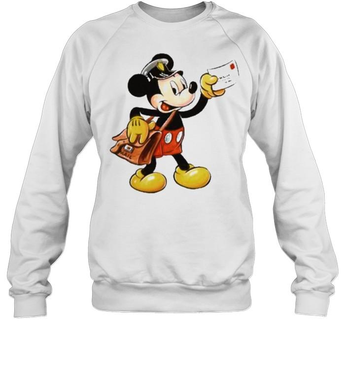 mickey postman shirt Unisex Sweatshirt