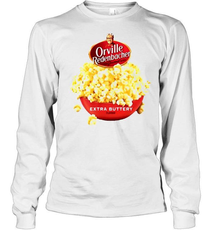 Orville Redenbacher Extra Buttery T-shirt Long Sleeved T-shirt
