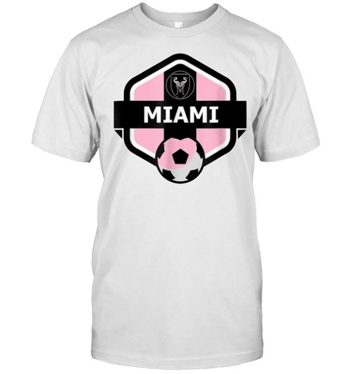 Miami Florida Soccer Inter Fanatico Futebol T- Classic Men's T-shirt