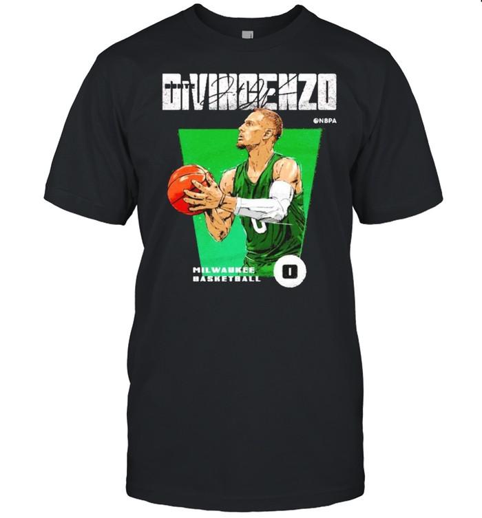 Milwaukee Basketball Donte DiVincenzo Premiere shirt Classic Men's T-shirt